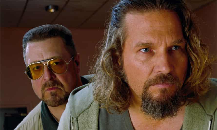 Discombobulated … Jeff Bridges, right, and John Goodman in The Big Lebowski.
