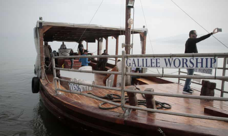 Christians on the Sea of Galilee