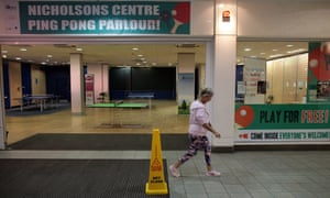 The Ping Pong Parlour in Maidenhead's Nicholsons shopping centre