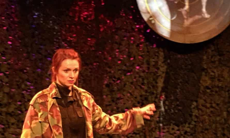 Rebecca Crookshank in her play Whiskey Tango Foxtrot