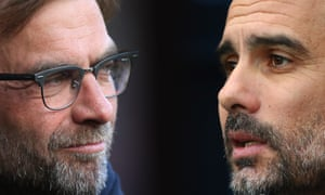 Jürgen Klopp's Liverpool will play Pep Guardiola's Manchester City in the first leg at Anfield