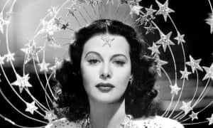 'Handicapped by her beauty': Hedy Lamarr.