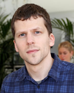 Jesse Eisenberg and his soul patch.