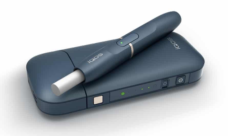 Philip Morris International's iQOS smokeless cigarette product.