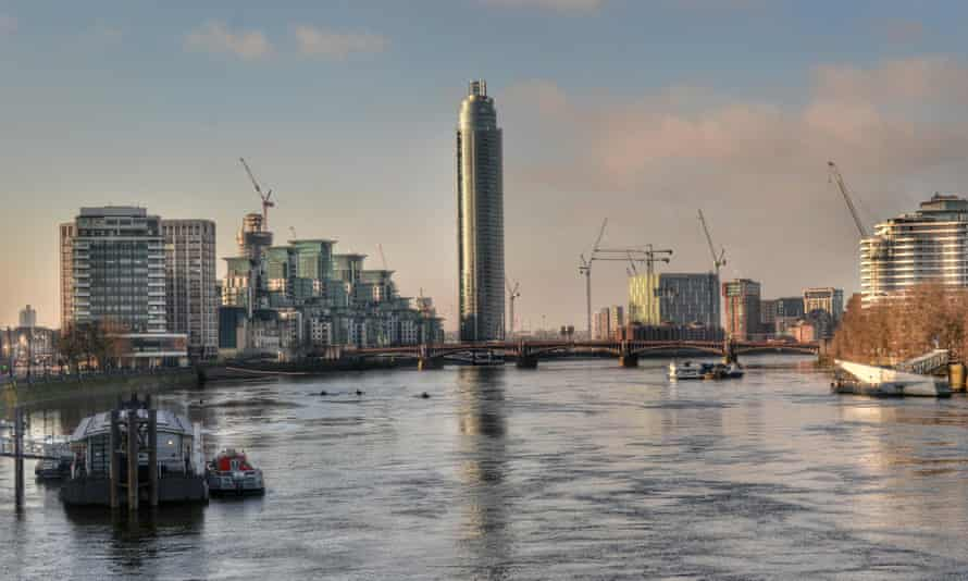 The Tower, a 50-storey apartment complex in Vauxhall, is more than 60% foreign-owned.