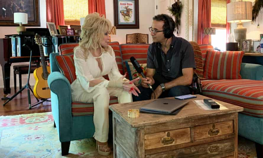 Here she comes again ... Jad Abumrad sits down with Dolly Parton.