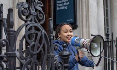 Goldsmiths students occupied Deptford town hall between March and July this year.