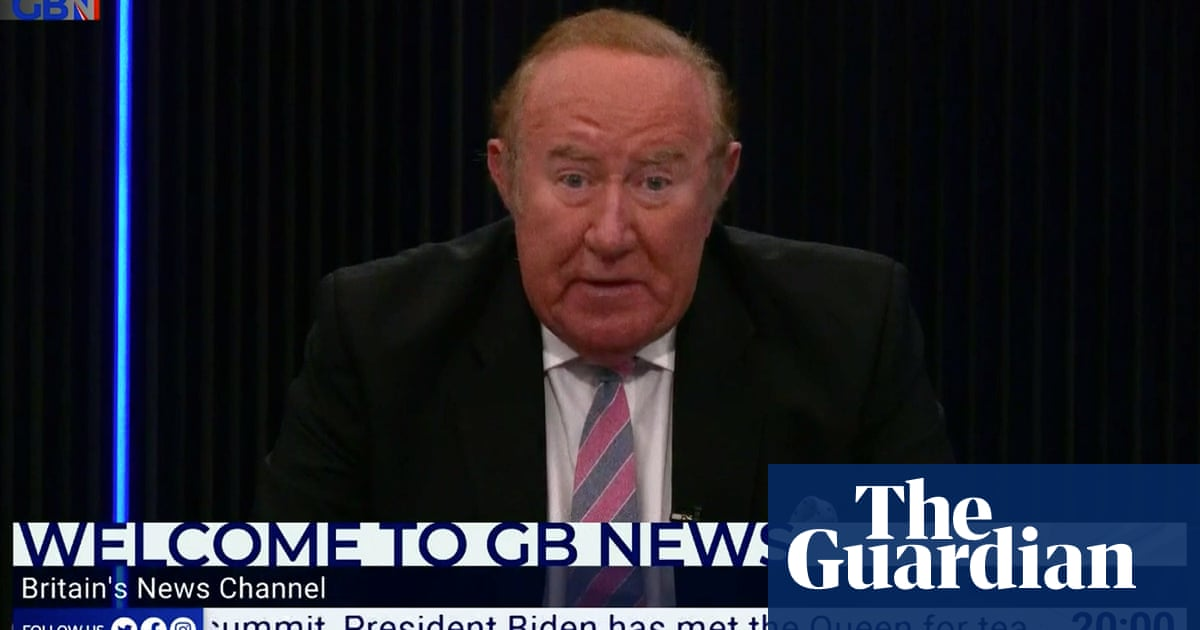 Andrew Neil 'almost had breakdown' at GB News