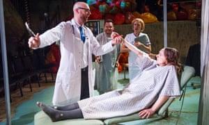 Jonathan Sells treats the lovelorn Rebecca Moon in L'Ospedale by Solomon's Knot.