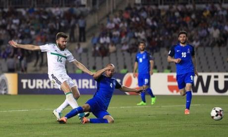 Stuart Dallas's last-gasp strike gives Northern Ireland vital win in Azerbaijan