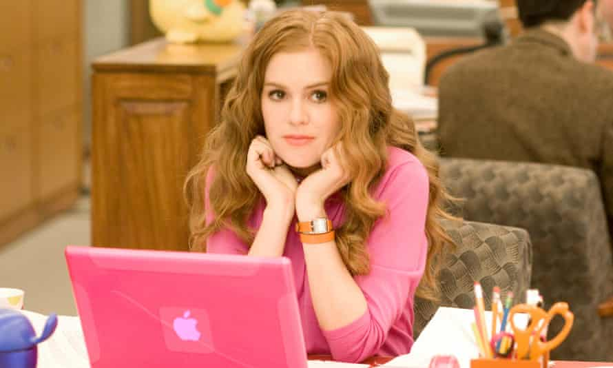 Isla Fisher in Confessions of a Shopaholic.