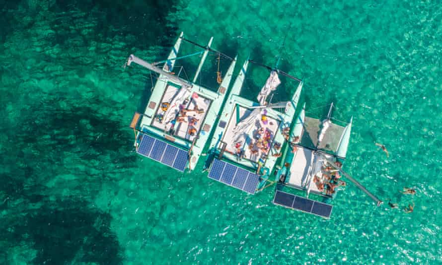 La Bella Verde vessel in Ibiza