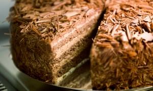 Paris truffle cream cake at Falko.
