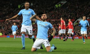 Nicolás Otamendi scored the winner in Manchester City's last visit to Old Trafford – one of the club's six wins in the fixture since 2011.