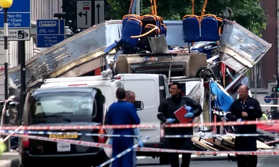 Bus attacked as part of 7/7 bombings