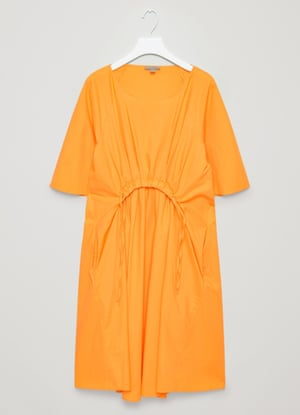 Cos rounded pleat dress, £69