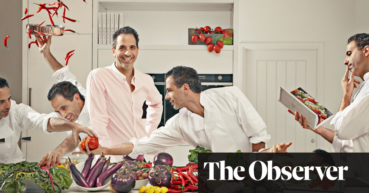 How Ottolenghi's bright colours and vivid tastes changed the way we eat