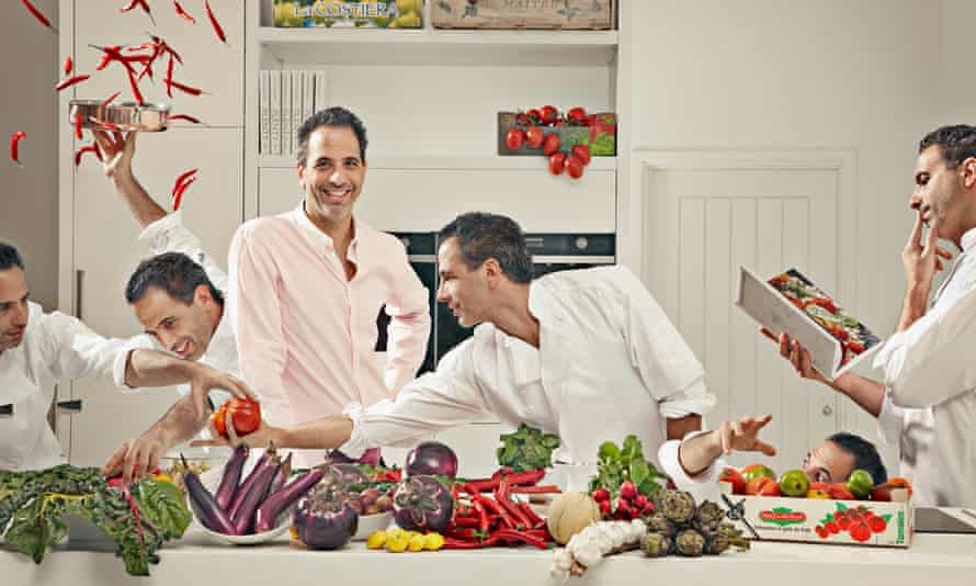 'We did invent a visual language for our food, but flavour-wise these are all familiar things': Yotam Ottolenghi.