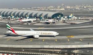 File photo of Dubai airport in the United Arab Emirates