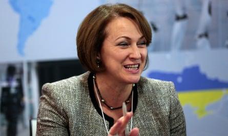 Inga Beale at Davos