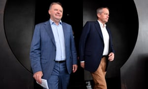 Anthony Albanese (left) and Bill Shorten
