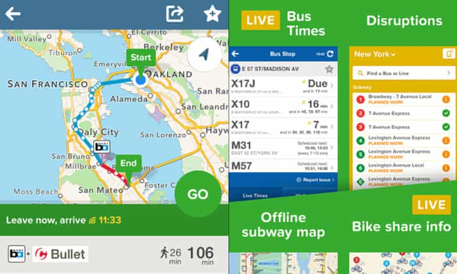 Citymapper is one of a growing number of apps tapping into public data