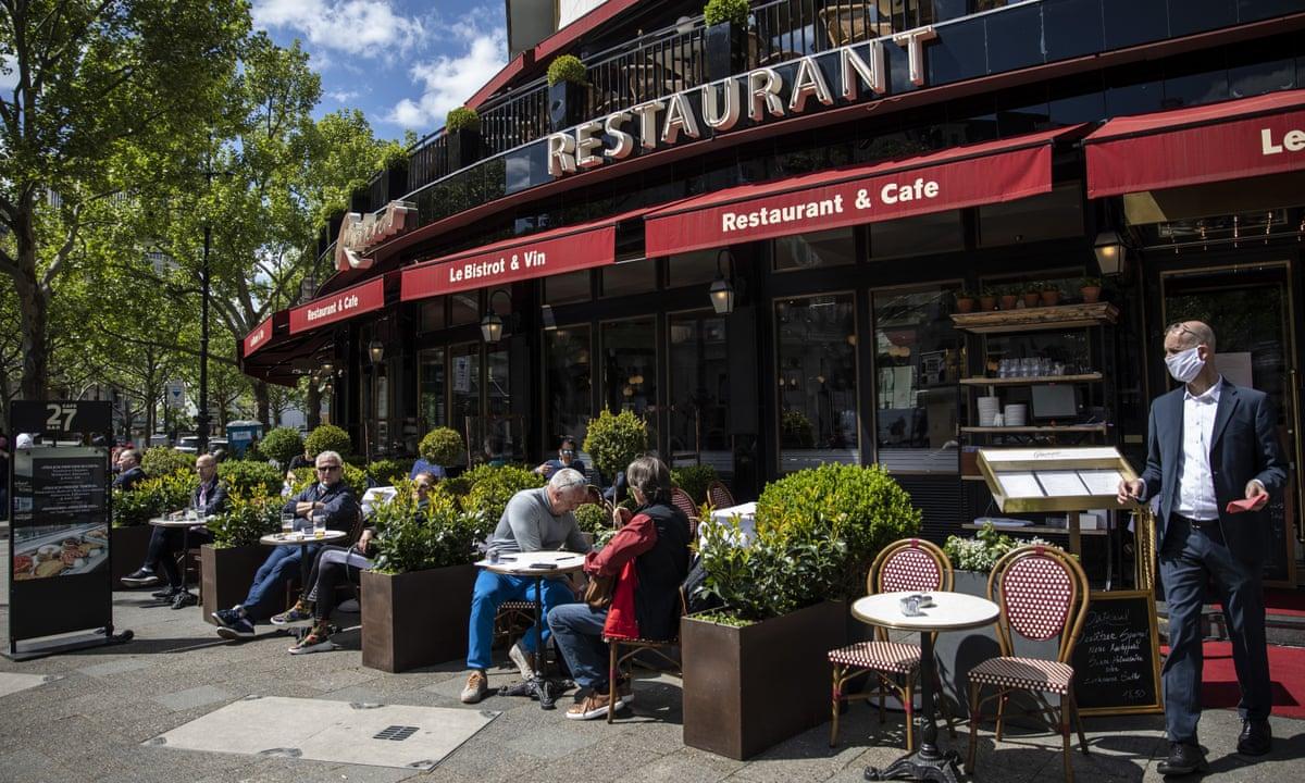 Coronavirus in Europe Germany and Austria reopen restaurants as ...