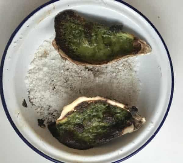 Pierre Franey's oysters Rockefeller.