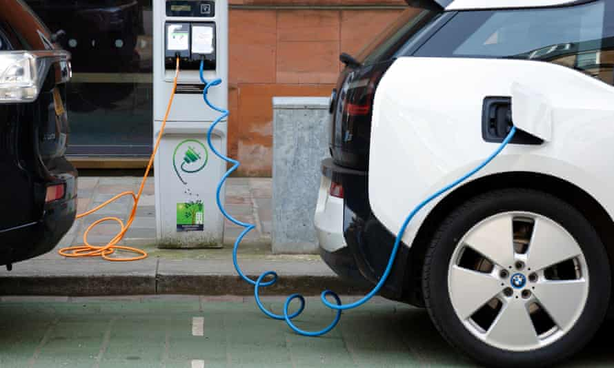 Hundreds of thousands of electrical car charging points will be needed.