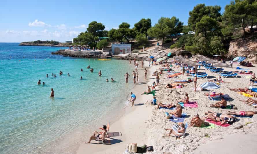 Cala Comtessa on Mallorca