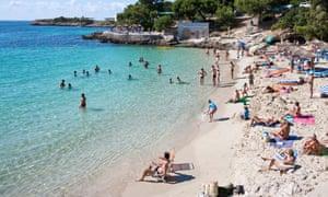 Cala Comtessa beach, Illetes, Mallorca