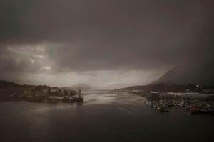 Sitka harbour, Alaska