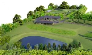 Plans for the a new caviar farm