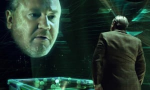 Ray Winstone in an advert for an online gambling site.