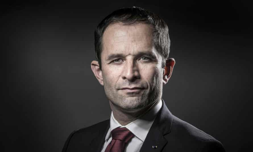 Benoît Hamon … eye catching proposals.