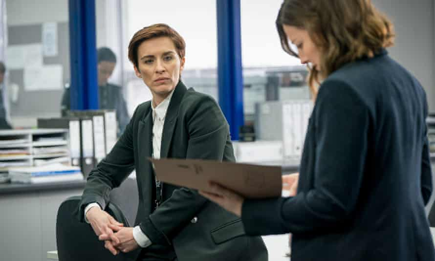 DI Kate Fleming (Vicky McClure) and DCI Jo Davidson (Kelly Macdonald) in Line Of Duty.