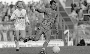 Paul Canoville was Chelsea's first black footballer in 1982.