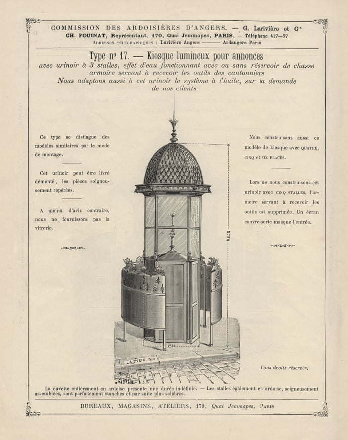 War And Pissoirs How The Urinals Of Paris Helped Beat The Nazis Art And Design The Guardian