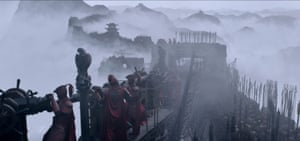 Mists of time … The Great Wall.