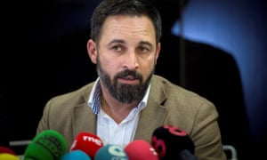 Vox leader Santiago Abascal has boasted of leading a 'reconquest' of Spain.