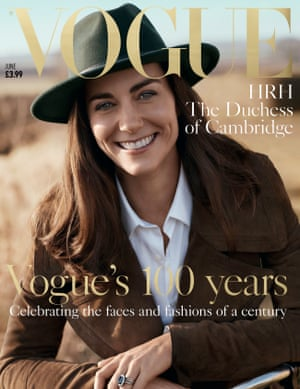 The Duchess of Cambridge on the Vogue cover.