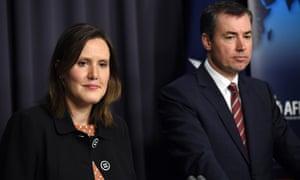 Kelly O'Dwyer and Michael Keenan