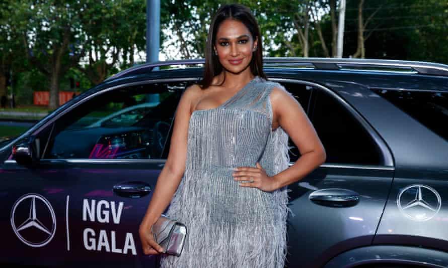 شارون جوهال در NGV Gala 2019 در گالری ملی ویکتوریا در 30 نوامبر 2019 شرکت کرد.