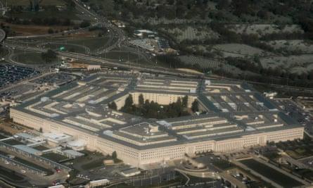 Pentagon outside Washington, DC (Photo by SAUL LOEB / AFP)