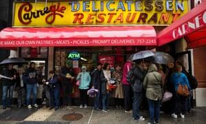 deli plomacy new york s famous katz s deli bemoans loss of carnegie