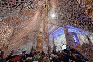 Ernesto Neto's installation at the Arsenale.