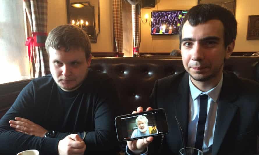 Alexei Stolyarov and Vladimir Kuznetsov