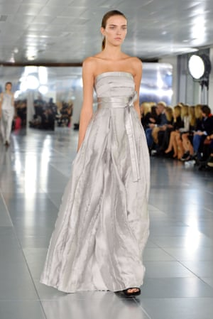 Dress for rent: a gown from Amanda Wakeley's SS16 collection.
