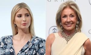 Ivanka Trump and Adrienne Vittadini