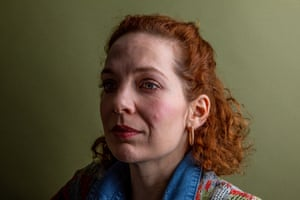 Actress Katherine Parkinson photographed at the Royal Court theatre